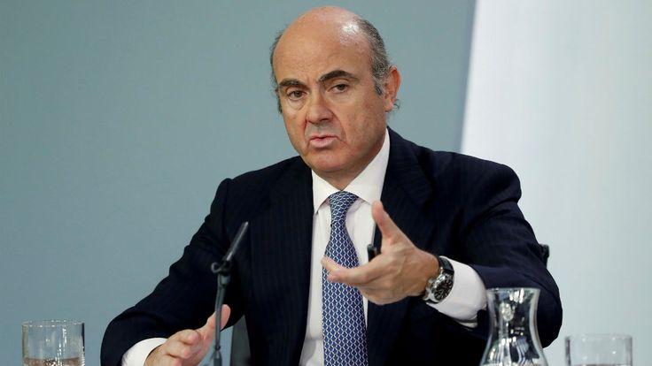 Guindos admite que la crisis catalana ha golpeado a la Bolsa española y elevado la prima de riesgo