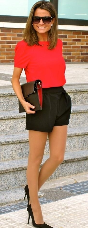 red and black street style ♥✤ | Keep the Glamour | BeStayBeautifu