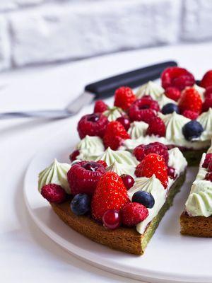 La recette du Fantastik de Christophe Michalak : fruits rouges et biscuit trocadéro