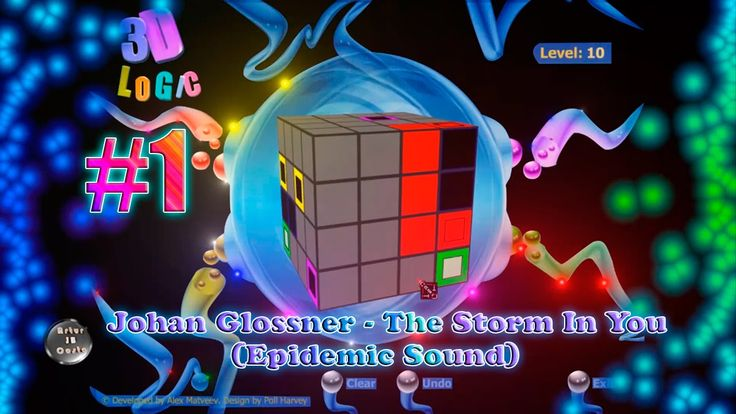 Johan Glossner - The Storm In You (Epidemic Sound) 3D Logic #1 1080p 60 Fps
