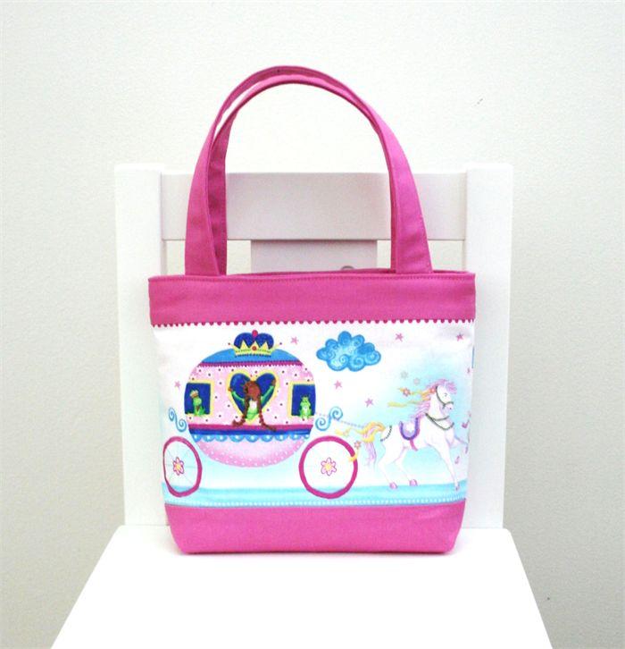 Mini Tote Bag - Princess  Carriage