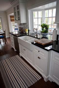 Bailey Traditional Kitchen Orange County James Glover Residential Interior Design Bay Window