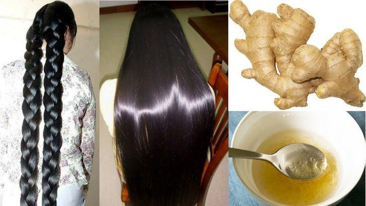 DIY Ginger Hair Masks For Extreme Hair Growth | Reduces Hair Fall, Hair Loss, Baldness & Dandruff - YouTube
