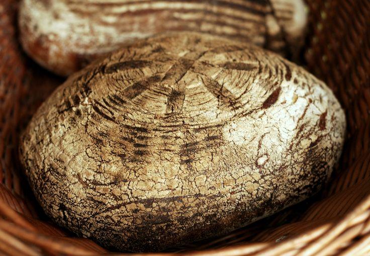 vinohradský pšeničný kváskový chlebík