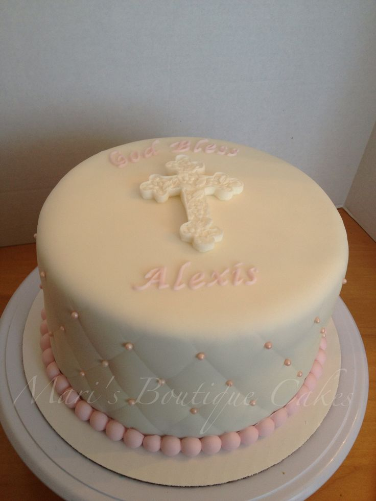 11 best images about Confirmation cake ideas on Pinterest ...