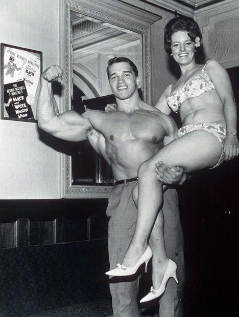 Arnold Schwarzenegger Aged 21 (1968)