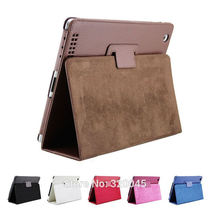 Business Flip Litchi Leather Case For new ipad3 ipad 4 Smart Stand Holder For Apple ipad2 3 4 Magnetic Auto Wake Up Sleep Cover