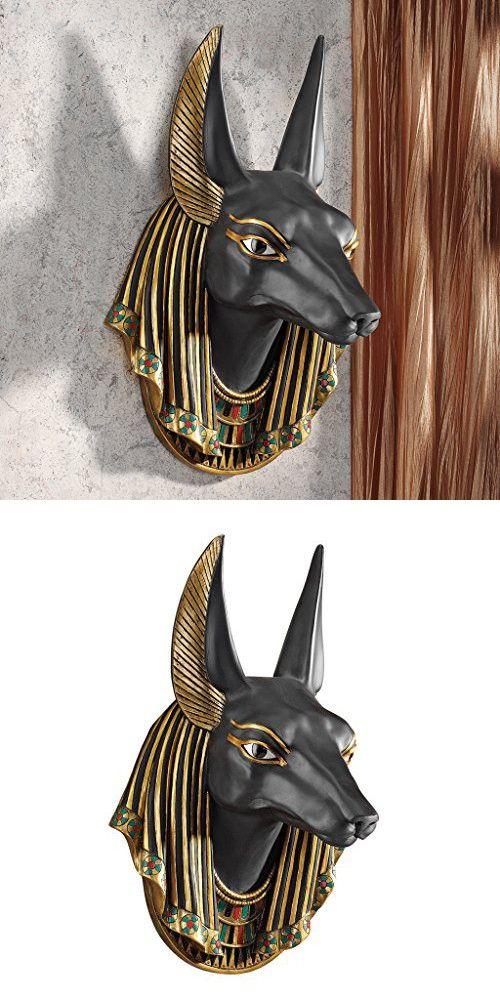 Design Toscano Anubis, the Jackal God Wall Sculpture