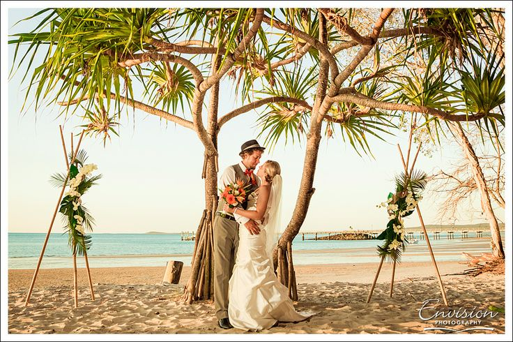 Destination wedding in Tropical Queensland on Fraser Island with #kingfisherbayresort. You're destined to have a beautiful wedding with the 2014 ABIA Award Winning Resort Reception!