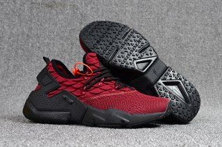 brand new 438dc 0e86f Fashion 2018 NIke Air Huarache Drift PRM Flyknit Men s Running Sports Shoes  Wine Red   Black