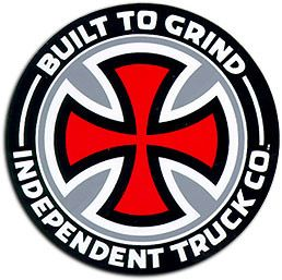 Independent Truck Co. Built to Grind.  The only trucks I will ever ride.