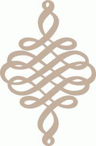 Silhouette Online Store - View Design #66842: calligraphic flourish