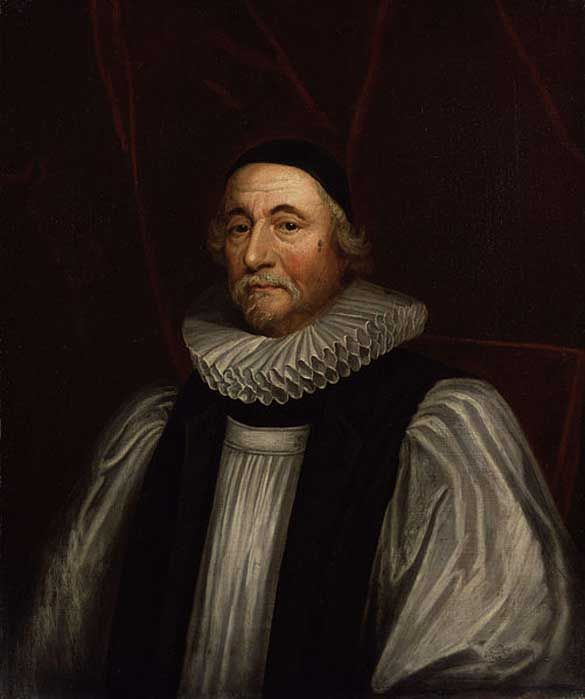 Portrait of James Ussher by Peter Lely.