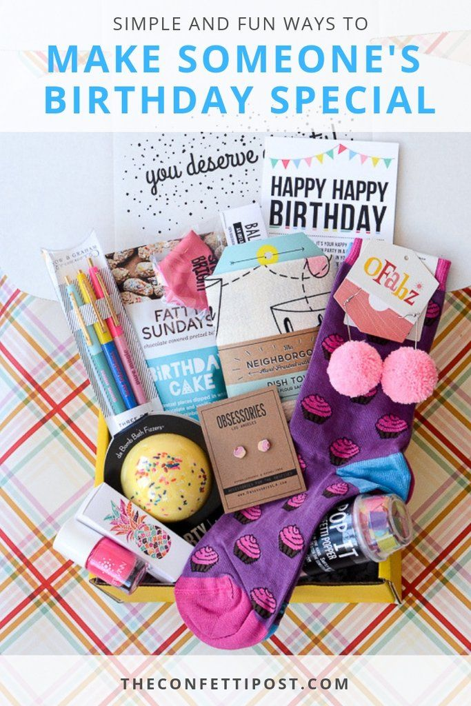 Simple And Fun Ways To Make Someone S Birthday Special Birthday
