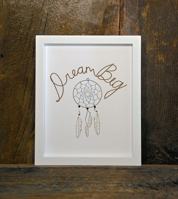 DREAM CATCHER dream big instant download by MountainViewPrints