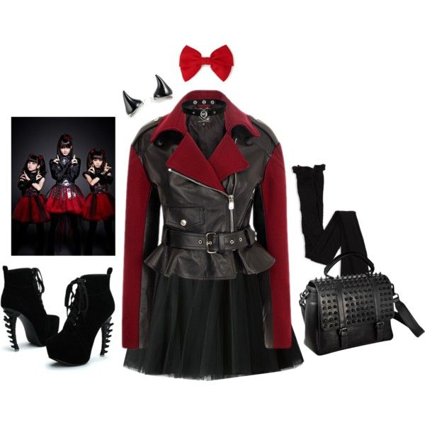 Babymetal inspired outfits ( minus the horns...I love!)