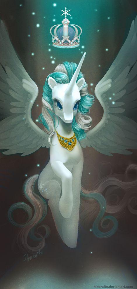 MLP FIM: Snowdrop - should have been a princess by hinoraito.deviantart.com on @deviantART