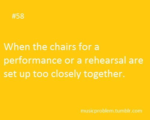 And so you keep hitting your desk partner with your bow, and he keeps hitting you with his, and the teacher who is playing with you keeps whacking yoir shoulder with his violin... THAT was a fun concert!
