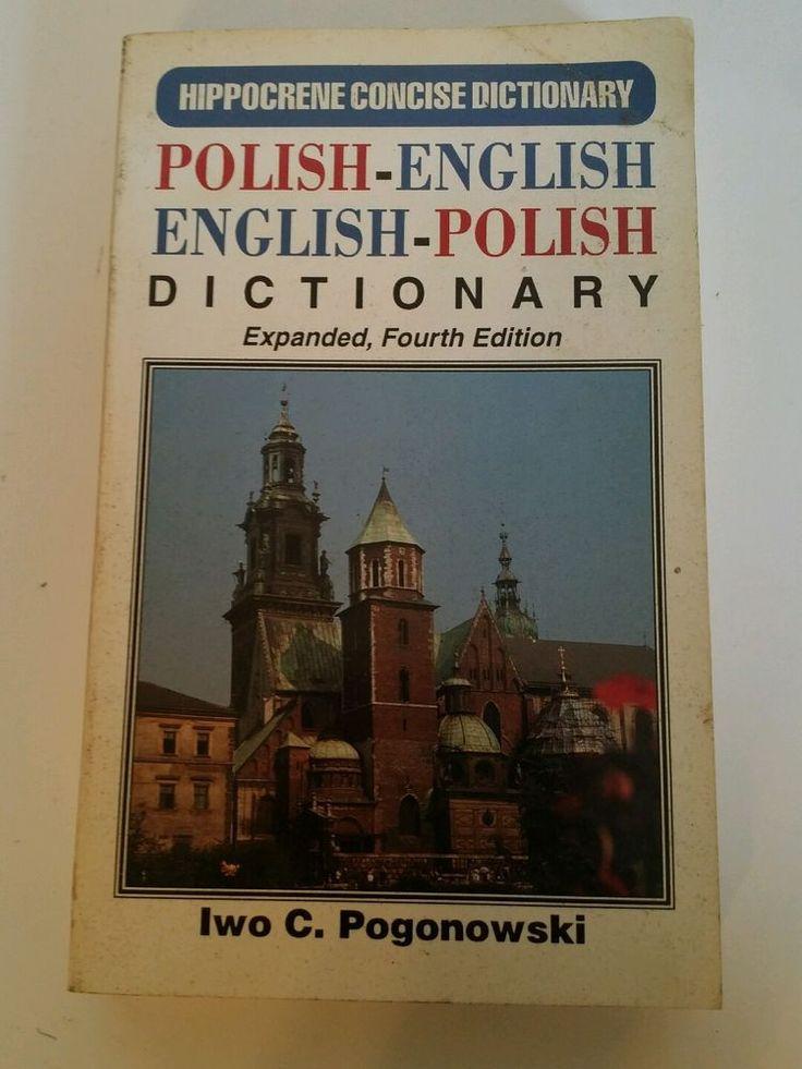 Polish-English/English-Polish Dictionary (Hippocrene Concise...  (ExLib)