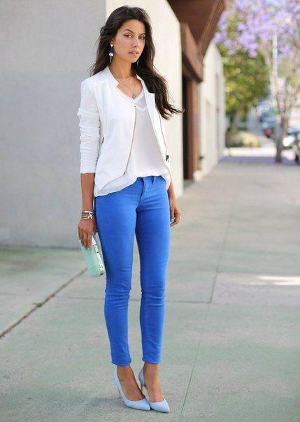M s de 25 ideas fant sticas sobre blusa azul rey en for Combinaciones con azul