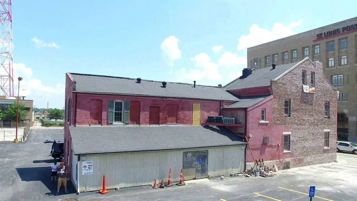 Historic Downtown St Louis Building Wall Rebuild Renovation Remodel PHASE-2