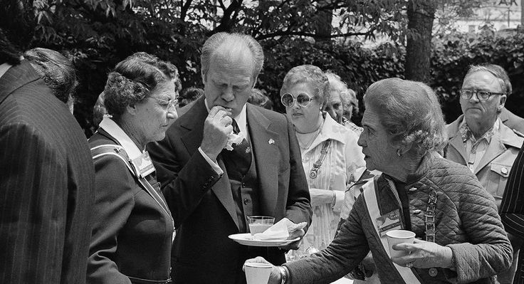 """In the months leading up to the 1976 presidential election, incumbent Gerald Ford made a culinary faux pas in San Antonio. At a reception hosted by the Daughters of the Republic of Texas, the Michigander was handed a plate of tamales and bit into one without first removing its corn husk wrapper. """"It was obvious he didn't get a briefing on the eating of tamales,"""" then-mayor Lila Cockrell later said."""
