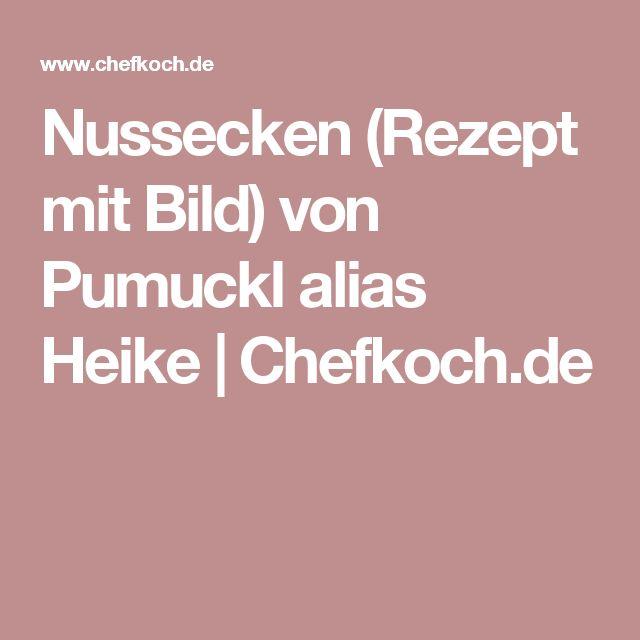 Nussecken (Rezept mit Bild) von Pumuckl alias Heike   Chefkoch.de
