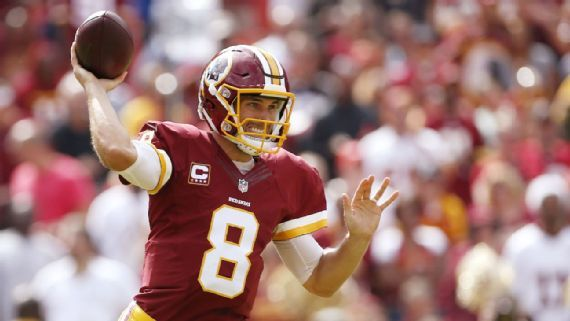 Kirk Cousins' stats put him at bottom of big-money group this year