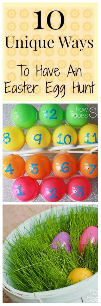 10 Unique Ways To Have An Easter Egg Hunt Easter