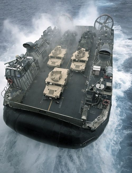 ...I'm a U.S. Navy LCAC Craftmaster! Such a cool piece of equipment with such an important job. Don't get me wrong, I'm proud of my time in the Army and with the Airborne, but I've gotta give credit where it's due. This is a freaking cool job!