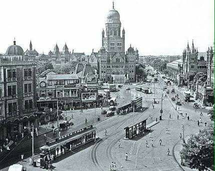 Bombay train station