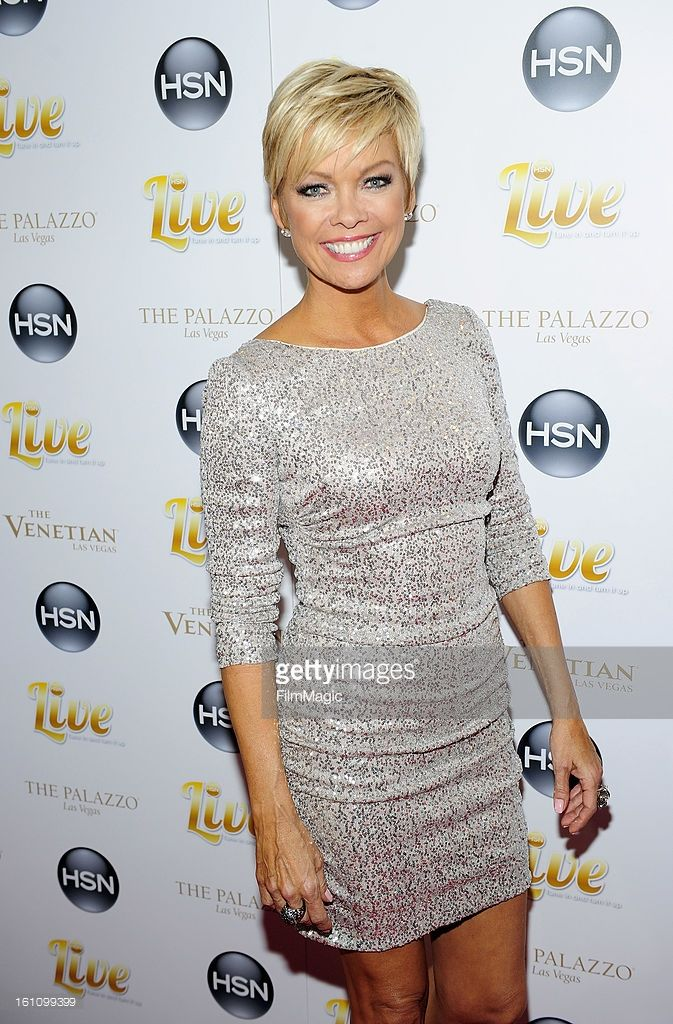 HSN host Callie Northagen arrives at the HSN Live Michael Bolton concert at The Venetian Resort Hotel Casino on February 8, 2013 in Las Vegas, Nevada.