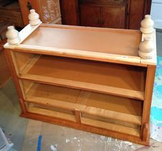 Hometalk | How to Add Feet to a Dresser - Before and After