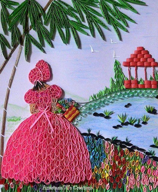 156 best crinoline ladies images on pinterest dish for Thread pool design pattern