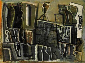 MARIO SIRONI (1885-1961) COMPOSIZIONE