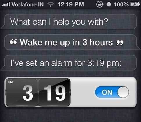 Use this simple Siri command for taking naps.   19 Mind-Blowing Tricks Every iPhone And iPad User Should Know