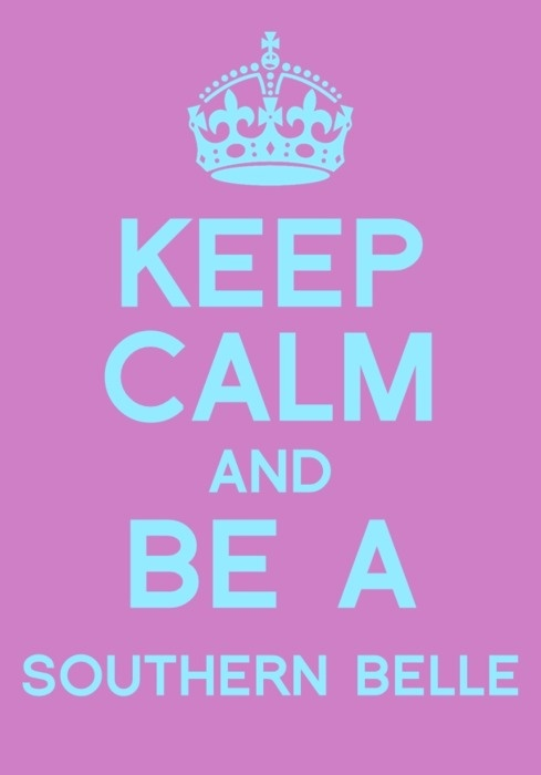 be a southern belle