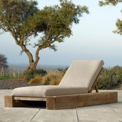 a rustic and cozy oak chaise 9 ways to lounge in style this summer