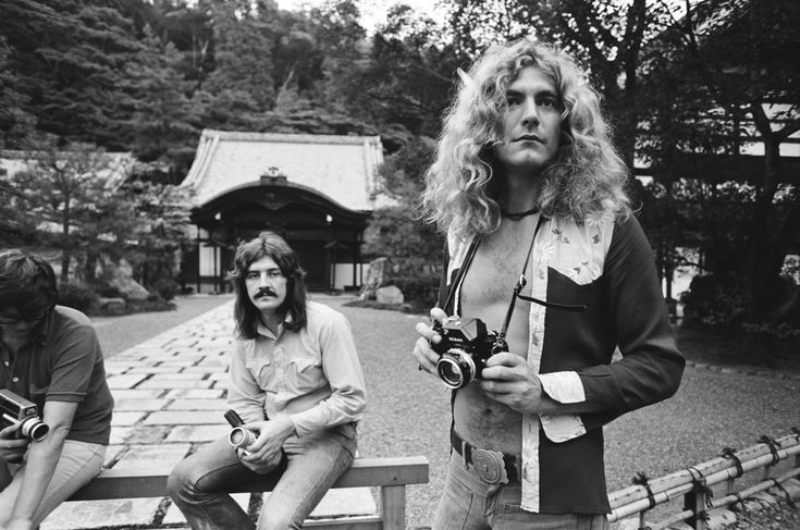 Led Zeppelin in Hiroshima, Japan, 1971. These bizarre photos show the world's biggest rock stars as tourists in 1970s Japan