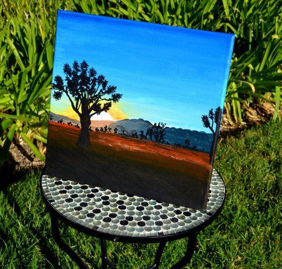 Joshua Tree Painting Take Me Home Acrylic