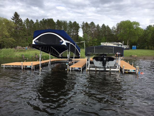 Maxis 2 Canopy With the push of a button the MAXIS canopy raises or lowers for easy access and entry for boats with towers and bimini tops. & 105 best Docks and Boat LIfts images on Pinterest | Boat lift ...