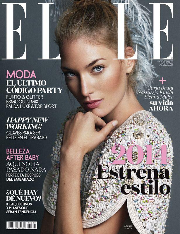 #ELLEenero con Masha Bacer