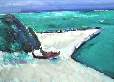 Boats on the Shore by Ion Pacea