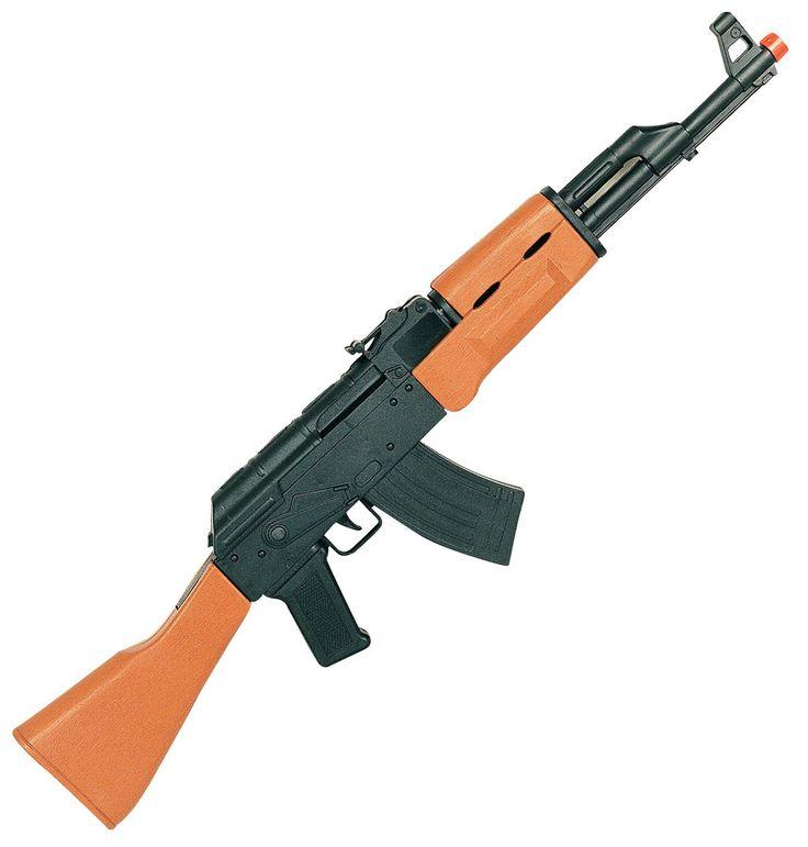 AK-47 Konepistooli.