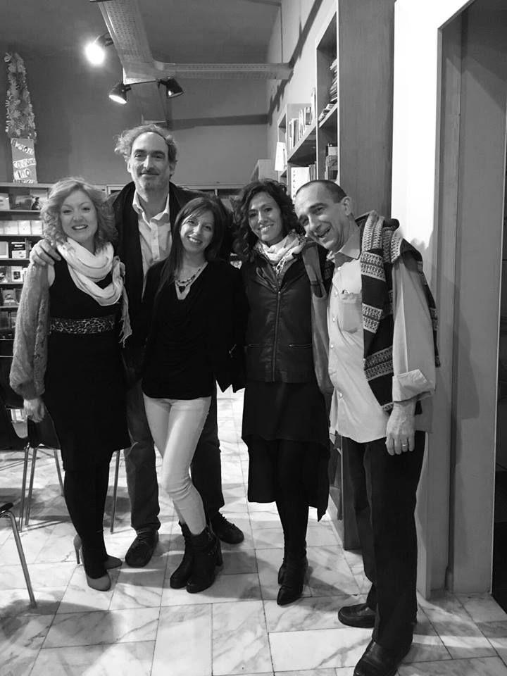 Libreria Belgravia (Torino).  Presentazione per il Salone OFF con Matteo Gamba (Vanity Fair).