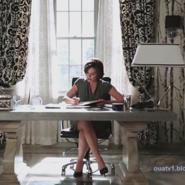 Once Upon A Time Home Decor Part - 27: The Wicked Queen/Mayoru0027s Office From Once Upon A Time.