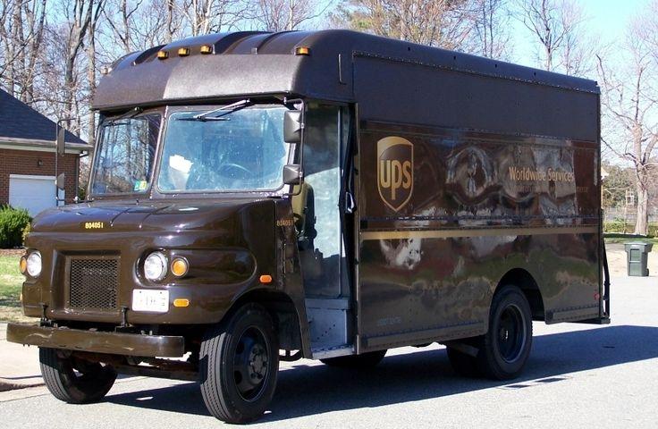 I know it's going to be a good day when I see the UPS truck!