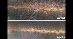 Pour cacher les cheveux blancs, le café est une alternative saine car il permet de les cacher sans fragiliser vos cheveux.