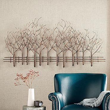 Metal Forest Line Artwork
