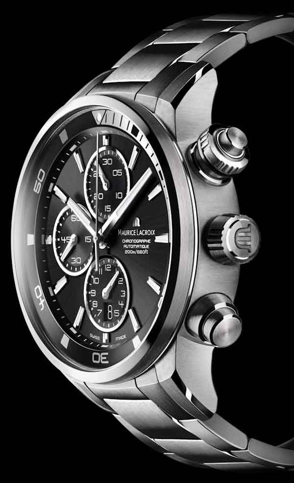 Maurice Lacroix Pontos S Dive #MauriceLacroix Swiss Watchmakers  #horlogerie #pontos @calibrelondon